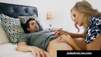 Heated Move Woman Julia Ann Gets Nude & Naughty along with Action Offspring!