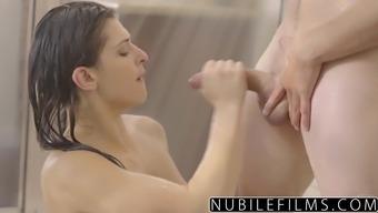 NubileFilms - Sizzling Shower Intercourse By using Leah Gotti