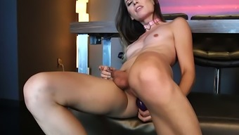 Energetic tranny slut Korra Del Rio has a horny face and he or she adores fapping lots