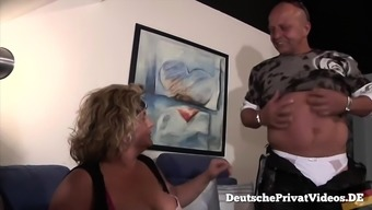 Blonde Bbw Fucks a Rider