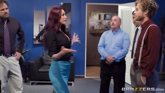 Monique Alexander advances her legs at once to produce a blindfolded fellow