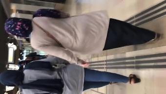 Beurette stupid ass hijab arab