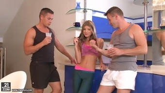 Attractive Doris Ivy has a wonderful time utilizing a couple of cocks