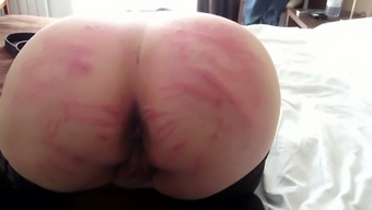 Wanton pale web camera submissive wife revealed off her put to use big roof-rack