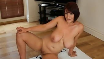 Soiled Performances: Nude Busty Brit Strip