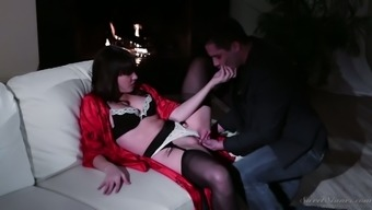 Mental christian missionary fuck with lusty busty homemaker Dana DeArmond