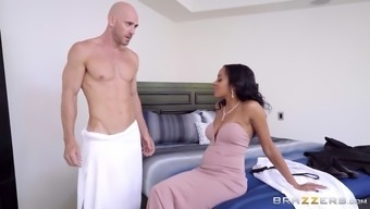 johnny social deviance shows his major hard on to actually anya ivy