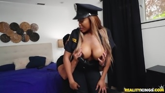 Moriah Erica is a policewoman by using huge boobs positioned for a cock