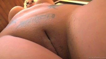 From asia hottie England Keyes shows off her stout pussy and really great bowls