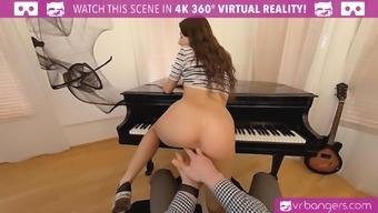 Perverted scholar fucks her piano tutor