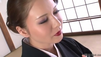 This heated big tits Japanese people MILF is displaying a great deal of what most people like