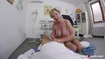 big tits granny gets pov fucked by her physician