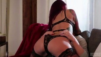 Amazing sexual session along with needled on blonde Monique Alexander