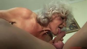 Naughty euro granny pornography chosing