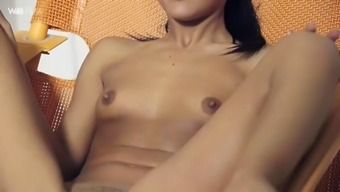 beautiful apolonia lapiedra acts back with her soppy pussy in closeup