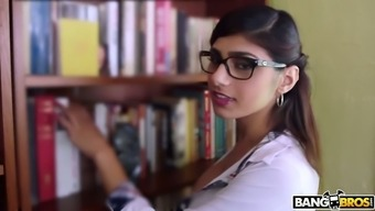 Properly altered Mia Khalifa warrants in order to get her moist Lebanese crimson fucked pup