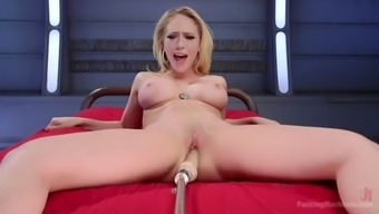 the fucking machinery makes well-known kagney lynn carter cum very difficult
