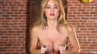 grandiose milf angela sommers gives cardiovascular system quitting alone