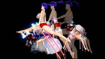 [Touhou MMD] Serious Versus.Packed BBA