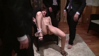 Severely tight Japanese human body on this sizzling ejaculate harlot