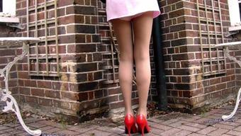 Very short Mini skirts And 100% cotton Panties