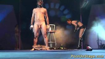Intense wild bdsm craze daytime tv talk show on public sexfair tell point in time