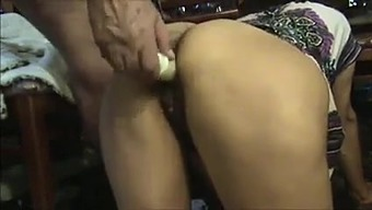 Grimy More senior Uncle Fucks & Licks Hairy Indian Lady's Butt
