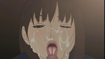 Hentai intercourse event Vast bukkake on Japanese people schoolgirl