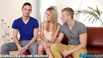 DogHouse Bisexual Couple's First Man