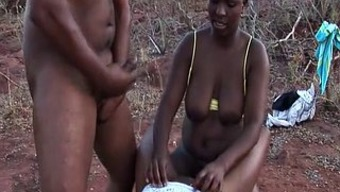 african love-making safari threesome orgy