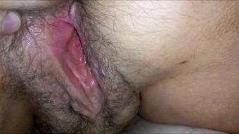 Major HAIRYass WET Genitals