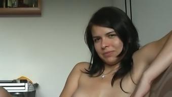 Zuzinka and her lover masturbating