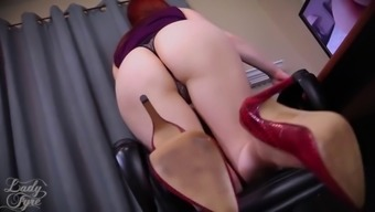 Throughout the day Booty Holy devotion by Woman Fyre Femdom