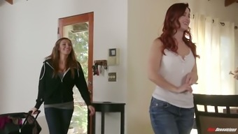 Beginning with the look on Karlie Montana's face she actually is entirely loving her GF's pussy