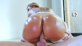 Ideal black fucked in POV form and pushed to really swallow