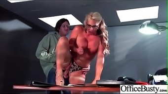 Business office Sexual intercourse Performance By using Sluty Naughty Large Tits Girl (Gilbert Marie) clip-22