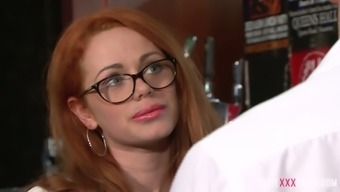 Sex hungry Ella Hughes likes to include some naughty entertaining at the tavern each day