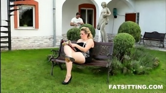 Huge-assed Big beautiful woman Kristy in smothering appointment