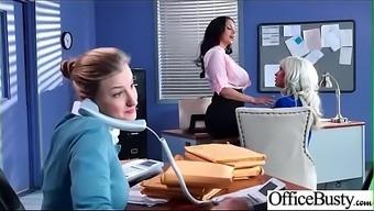 (Magumas Addams &_ Ufirst Jenner) Great Titties Naughty Workplace Girl Get Nailed Intense vid-04
