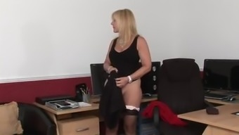 Young spanks mature
