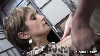 Disloyal your native language milf woman sonia screens her big titties