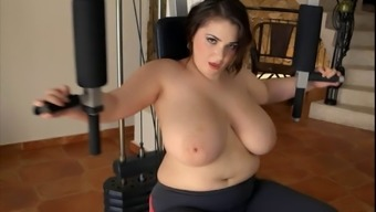 bbw in exercise
