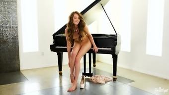 Brilliant toddler Elena Koshka take pleasure in producing her completely love hollow moist