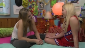 Blair Williams and Summer Morning desire to actually feel each other's clits