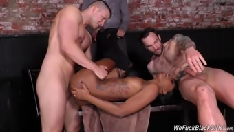 ebony date lacey london desires white colored cocks to effectively sperm her pretty have to face