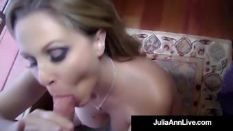 Well designed Blond Milf Julia Ann Receives a Warmer Burden With her Entrance!