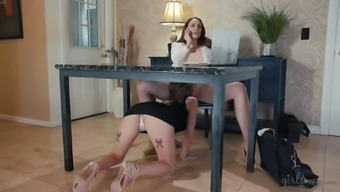 Chanel Preston and Australia Cole are exquisite sluts that like to eat cunts
