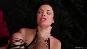 Alektra Red is basically a damsel in sexy the company loving a man's dong
