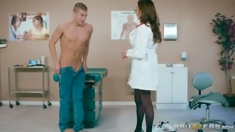 Ariella Ferrera is a great breasted physician who might adores cycling a cock