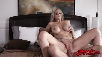 great titted milf julia ann teases before using solid dick